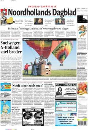 NoordHollands Dagblad proefabonnement | proefabonnementen.com