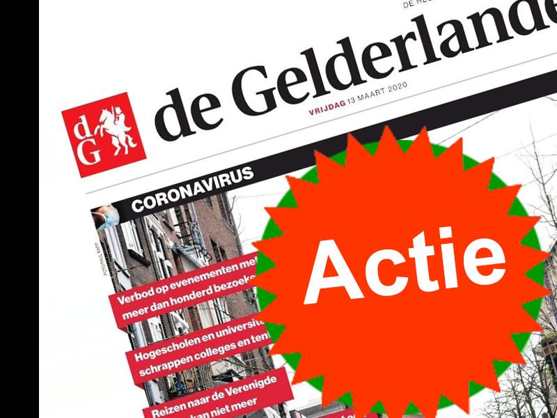 De Gelderlander proefabonnement
